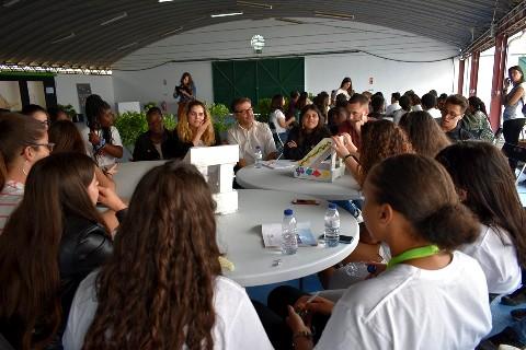 Pensar Alto – Ciclo de conversas sobre Moita Património do Tejo – com participação de alunos ETPM