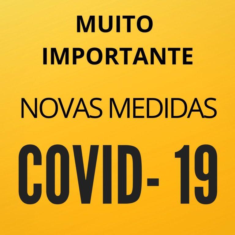 IMPORTANTE | Novas Medidas|Covid-19