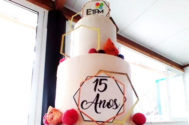 15 ANOS A CRESCER CONVOSCO